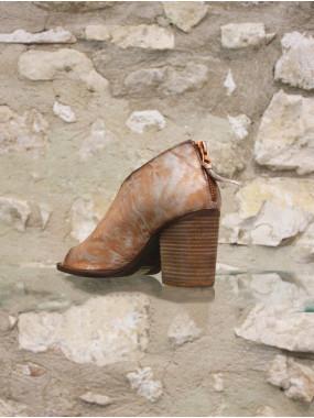 low boots echancrée