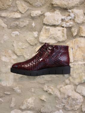 Boots semelle crantée