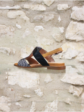 Sandale ethnique