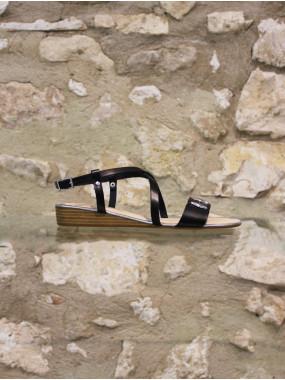 Sandale chic noire