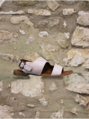 Sandale grise ou moutarde ultra souple