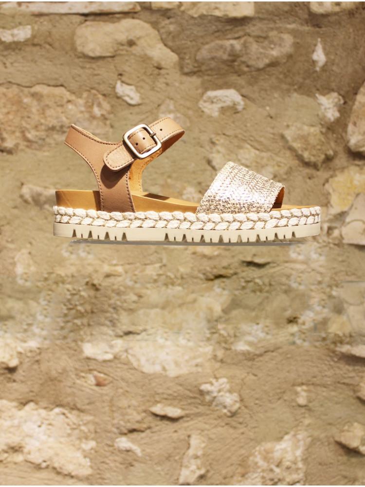 Sandale naturelle