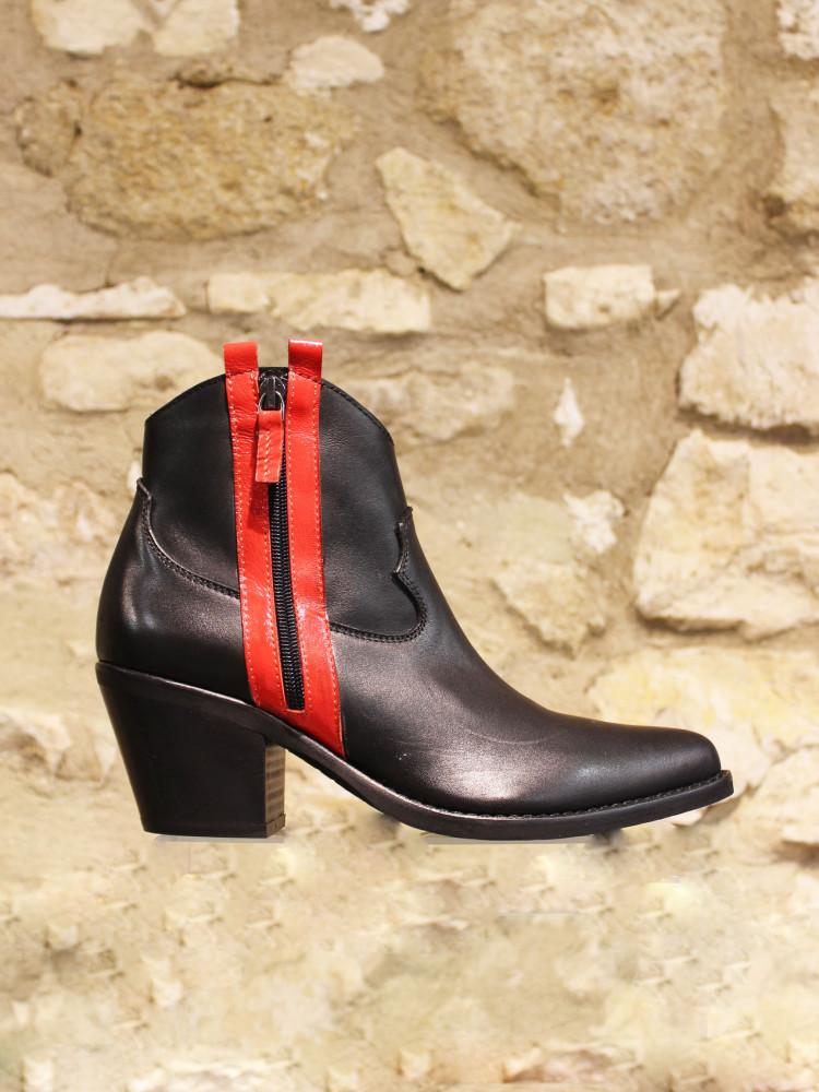 Boots tiag noire